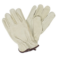 Select Grain Pigskin Leather Driver's Gloves - Medium - Pair