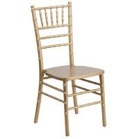 Flash Furniture XS-GOLD-GG Hercules Gold Chiavari Hardwood Stacking Chair