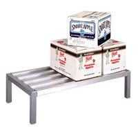 Lakeside PBDR60 PrisonBilt 24 inch x 60 inch x 12 inch Aluminum Dunnage Rack - 2000 lb. Capacity