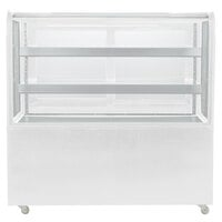 Avantco BC-48-HC 48 inch Curved Glass White Refrigerated Bakery Display Case