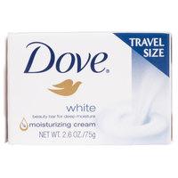 Dove White 2.6 oz. Travel Size Beauty Bar Soap - 36/Case