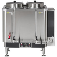 Curtis BB Banquet Twin 9 Gallon Coffee Urn - 208/220V, 3 Phase