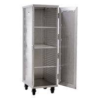 Lakeside PBPR990 PrisonBilt 40 Pan End Load Enclosed Bun / Sheet Pan Rack - Assembled