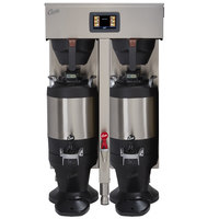 Curtis G4TP15T10A1500 G4 ThermoPro Twin 1.5 Gallon Coffee Brewer with Vacuum Servers - 220V