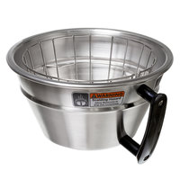 Curtis WC-3357 Large Stainless Steel Brew Basket with Wire Basket