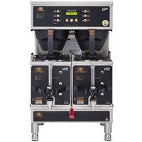 Curtis GEMTIF10A2000 G3 Gemini IntelliFresh Twin 1.5 Gallon Satellite Coffee Brewer - 220V