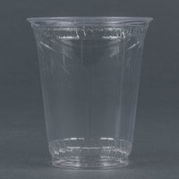 Fabri-Kal Greenware GC7 7 oz. Customizable Compostable Clear Plastic Cold Cup - 1000/Case