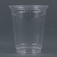 Fabri-Kal Greenware GC7 7 oz. Customizable Compostable Clear Plastic Cold Cup - 1000 / Case