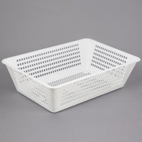 Campus Products CPIBUS-P White Perforated Drain Box