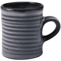 Homer Laughlin 180041438 Brownfield 13 oz. Pewter Amano Mug - 36/Case