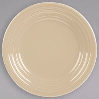 Homer Laughlin 465330 Fiesta Ivory 9 inch China Luncheon Plate - 12/Case