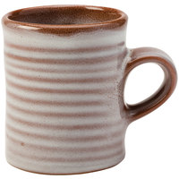 Homer Laughlin 180041437 Brownfield 13 oz. Cobblestone Amano Mug - 36/Case