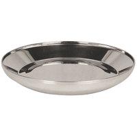 Lakeside 7504 Safe-Rim 9 1/3 inch Stainless Steel Pellet - 12/Case