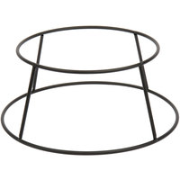 Choice 4 inch Round Black Metal Display Stand