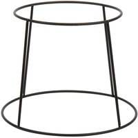 Choice 7 inch Round Black Metal Display Stand