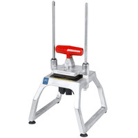 Vollrath 15003 Redco InstaCut 3.5 4 Section Fruit and Vegetable Wedger - Tabletop Mount