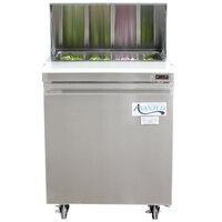 Avantco SCL1 27 inch Sandwich / Salad Prep Refrigerator
