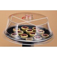 Cal Mil 303-15 Turn N Serve Continental Sample / Pastry Tray Cover 15 inch