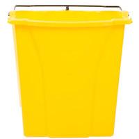 Rubbermaid FG9C7400YEL WaveBrake® 18 Qt. Yellow Dirty Water Bucket