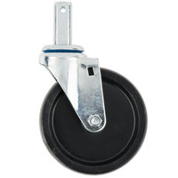 Channel CSS45O 5 inch Polypropylene Square Stem Caster
