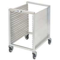 Channel 615 16 Pan Front Load Semi-Enclosed Aluminum Bun / Sheet Pan Rack - Assembled