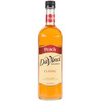 DaVinci Gourmet 750 mL Classic Peach Flavoring / Fruit Syrup