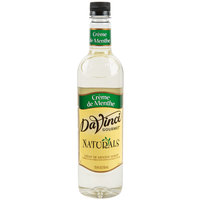 DaVinci Gourmet 700 mL All Natural Creme De Menthe Flavoring Syrup