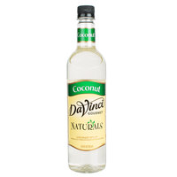 DaVinci Gourmet 750 mL All Natural Coconut Flavoring Syrup