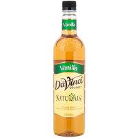 DaVinci Gourmet 750 mL All Natural Vanilla Flavoring Syrup