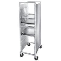 Channel 620 40 Pan Front Load Semi-Enclosed Aluminum Bun / Sheet Pan Rack - Assembled