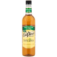 DaVinci Gourmet 750 mL All Natural Madagascar Vanilla Flavoring Syrup