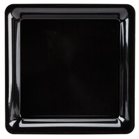 Fineline SQ4414.BK Innovative Caterware 14 inch x 14 inch Black Plastic Square Cater Tray