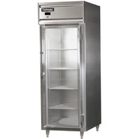 Continental DL1RES-SS-GD 29 inch Glass Door Extra Wide Shallow Depth Reach-In Refrigerator
