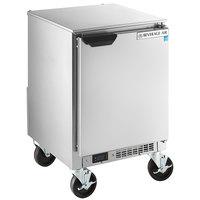 Beverage-Air UCR20HC 20 inch Shallow Depth Low Profile Undercounter Refrigerator