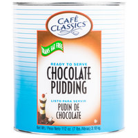 Cafe Classics Trans Fat Free Chocolate Pudding #10 Can - 6/Case