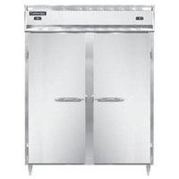 Continental DL2RFE-PT 57 inch Solid Door Extra-Wide Dual Temperature Pass-Through Refrigerator/Freezer