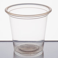Choice 1.25 oz. Clear Plastic Shot Glass - 250/Pack