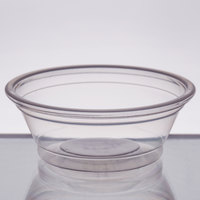 Choice 0.5 oz. Clear Plastic Souffle Cup / Portion Cup - 100/Pack