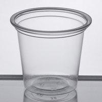 Choice 1.25 oz. Clear Plastic Souffle Cup / Portion Cup   - 2500/Case