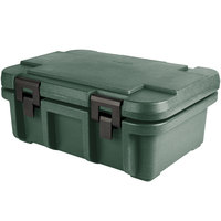 Cambro UPC160192 Camcarrier Ultra Pan Carrier® Granite Green Top Loading 6 inch Deep Insulated Food Pan Carrier