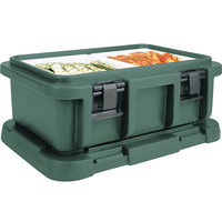 Cambro UPC160192 Granite Green Camcarrier Ultra Pan Carrier - Top Load for 12 inch x 20 inch Food Pan