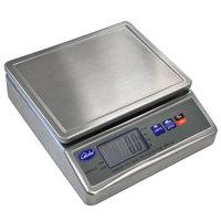 Globe GPS10-S 11 lb. Stainless Steel Waterproof Digital Portion Control Scale