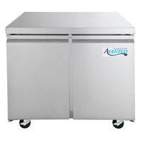 Avantco SS-UC-36R-HC 35 1/4 inch Undercounter Refrigerator