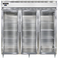 Continental DL3F-SA-GD 78 inch Glass Door Reach-In Freezer