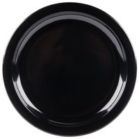 Carlisle KL20103 Kingline 7 1/4 inch Black Sandwich Plate   - 48/Case