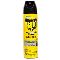 SC Johnson Raid® 638602 15 oz. Aerosol Multi Insect Bug Killer Spray