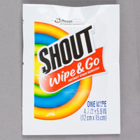 SC Johnson Shout® 686661 Instant Stain Remover Wipes   - 80/Case