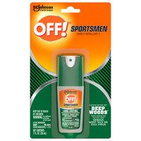 SC Johnson OFF!® 317188 1 oz. Deep Woods® Sportsmen Insect Repellent I