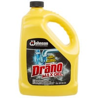 SC Johnson Drano® 696642 1 Gallon Max Gel Clog Remover - 4/Case