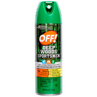 SC Johnson OFF!® 629374 6 oz. Deep Woods® Sportsmen Insect Repellent II - 12/Case